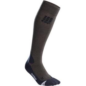 cep Pro+ Outdoor Merino Socks Men brown/black